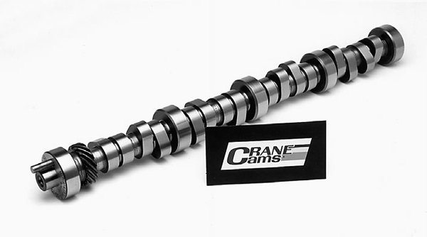 Roller camshafts are identifiable by their smooth radiused lobes. Note the shine and more rounded shape. Roller camshafts are more flexible because they allow for a more aggressive amount of lift and duration without disturbing idle quality. Lift can be as much as .540 inch with only minor changes in idle quality.