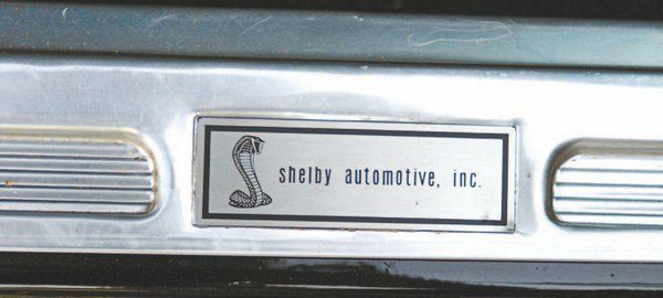 Early 1968 Shelbys used Shelby American/Los Angeles door sill labels (left), while later ones used more correct Shelby Automotive tags (right). It is likely that the older Los Angeles tags were used until the supply of them simply ran out.