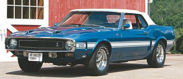 Acapulco Blue returned to the Shelby palate for the third model year, although it was eventually dropped when the 1970 Grabber colors were introduced in mid 1969.