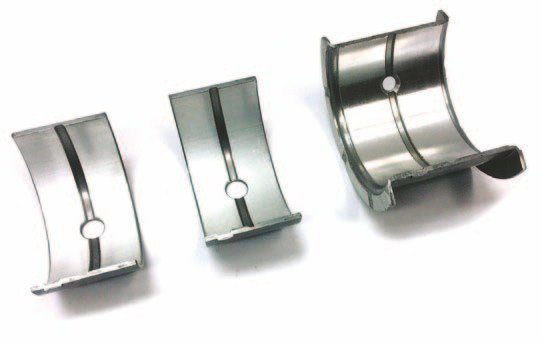 Federal-Mogul/Sealed Power manufactures main bearings for the 239- and 255-ci engines in standard sizes as well as .010, .020, and .030 undersize. Scat also offers a variety of bearings that you can buy direct.