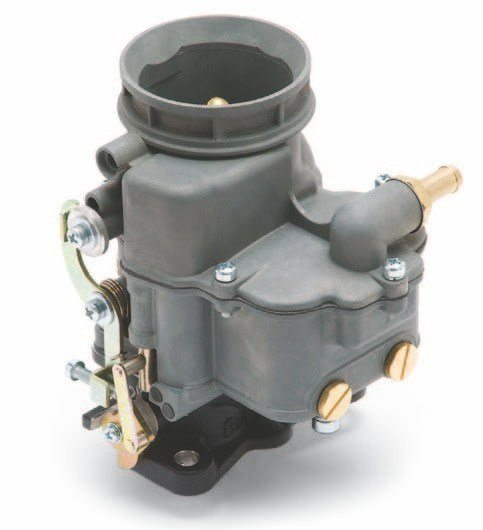 Edelbrock reproduces the old Chandler-Groves two-barrel 94. It features a die-cast bowl and air horn with an aluminum three-bolt base. A secondary version of this carburetor features no choke, making it a must-have for multiple carb setups. Both versions feature an extended throttle shaft to make it easier to install dual- and triple-carburetor combinations.