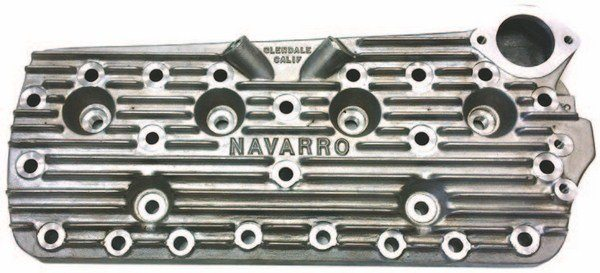 Made from the original permanent patterns in the original foundry, these 356 aluminum Navarro 8BA heads feature an internal bridging system that reduces flex and increases stability. High-dome and 59A versions are also available.