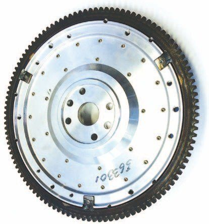 McLeod and Fidanza also make aluminum flywheels for the flathead. The reduced weight (about 15 pounds lighter than steel) affords significant performance benefits due to faster throttle response (less inertia) and therefore quicker acceleration. The flywheels also help reduce parasitic driveline losses.