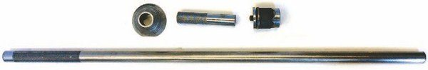 A few special tools make rebuilding a flathead easier (see Chapter 2). For example, Manley offers a valvespring chamfering tool, a rod bolt stretch gauge, and assembly lube. Bob Drake sells a number of specialty tools, including the important valveguide removal/installation tool (shown).