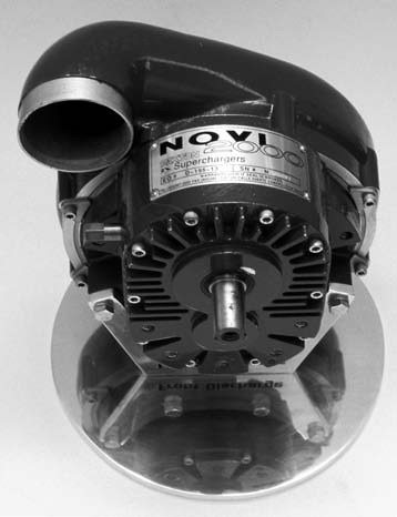 Internally, both the Novi 1000 and Novi 2000 models feature similarities like the same geartrain, internal bearings, and supercharger intake. The discharge tube, volute, and turbine wheel design are the same also. However, through the Novi 2000's unique impeller and compact scroll design, the unit is capable of 27-psi boost and can sustain it at 900+ hp ranges.